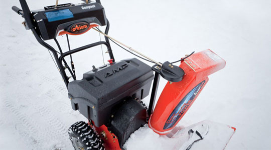Powerful Handheld Electric Snow Blowers : It s electric no gas problem snowblowersatjacks