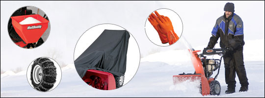 Accessories Your Snow Blower Can't Live Without