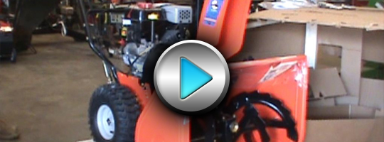 Ariens Deluxe 28 Snow Blower Setup and Assembly