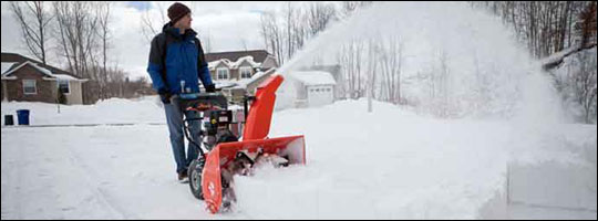 Quick Tips on Using Your Snow Blower