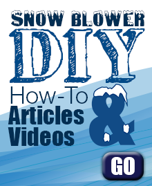Snowblower DIY - Repair & Maintenance