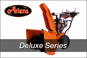 Ariens Deluxe Series Snow Blowers
