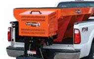 SaltDogg Gas Drive Salt Spreader