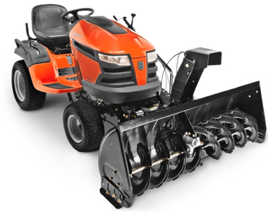 Husqvarna 50 inch Two Stage Tractor Mount SnowBlowersAtJacks.Com