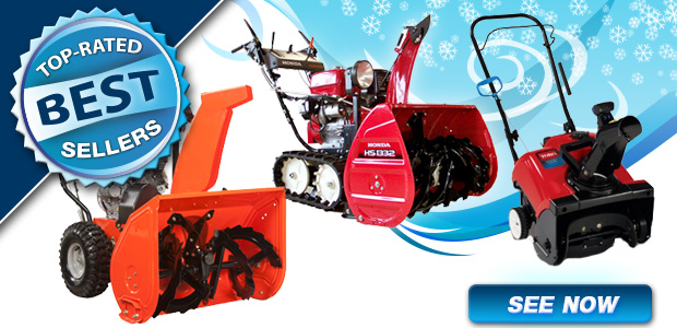 Top Rated Best Selling Snow Blowers
