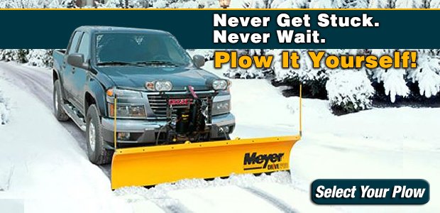 New Snow Plows from Meyer