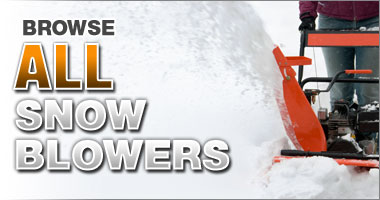 Browse All Snow Blowers