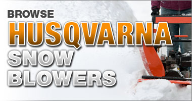 Husqvanra Snow Blowers