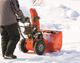 Ariens Deluxe 28 Sho In Use