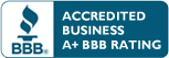 Better Business Bureau A Plus Accredited Business