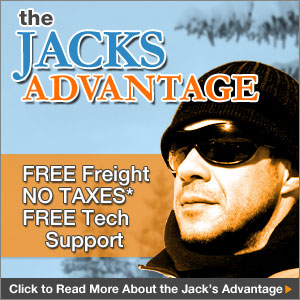 You have the Jacks Advantage. Free Freight Shipping. No Taxes except in MD. Free Technical Support for the life of your snow blower