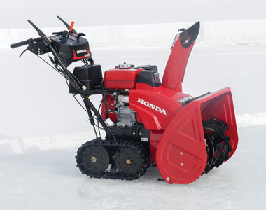 honda snow blowers honda hss928atd 28 inch 270cc two stage track drive snow 10997